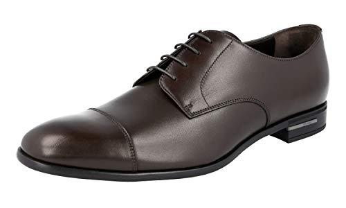 Prada Herren Braun Leder Business Schuhe 2EC122 Z4C F0003 45 EU/UK 11
