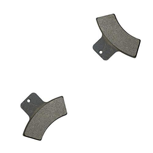 CNBK Derrière Les Plaquettes Fixees Semi Metallique fit for POLARIS ATV 500 Scrambler 4x4 98 99 00 01 02 03 04 1998 1999 2000 2001 2002 2003 2004 1 Pair(2 Pads)