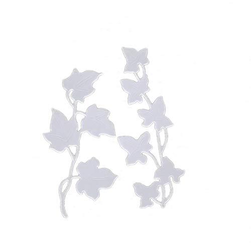 beautijiam Stanzschablonen, Blätterranken-Prägeschablone, DIY, Scrapbooking, Fotovorlagen für Alben, Papierkarten, dekorative Bastelarbeiten