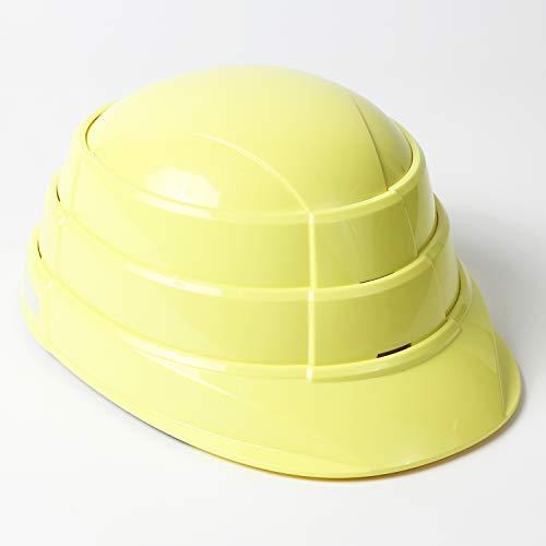 折りたたみ防災用ヘルメット オサメット(反射材付き) osamet (大人用 シャインイエロー)