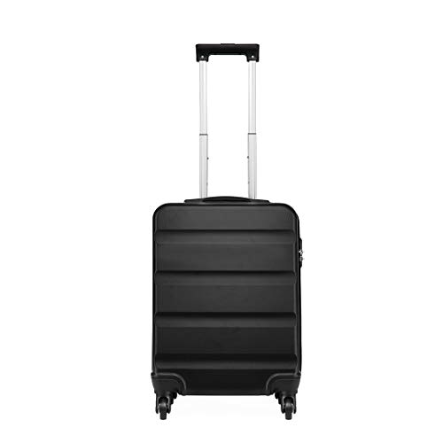 Kono Cabin Approved Hand Luggage 55x38x20 cm Lightweight Spinner Wheels 33L
