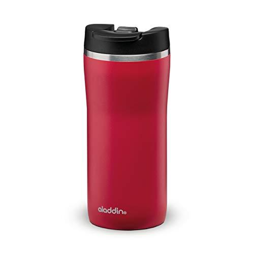 Save on Aladdin Barista Café Thermavac Leak-Lock Edelstahl Thermobecher 0.25L Cherry Red – Auslaufsicherer Becher - Kaffeebecher To Go Thermo - Hält 2,5 Stunden Heiß - BPA-Frei - Spülmaschinenfest and more