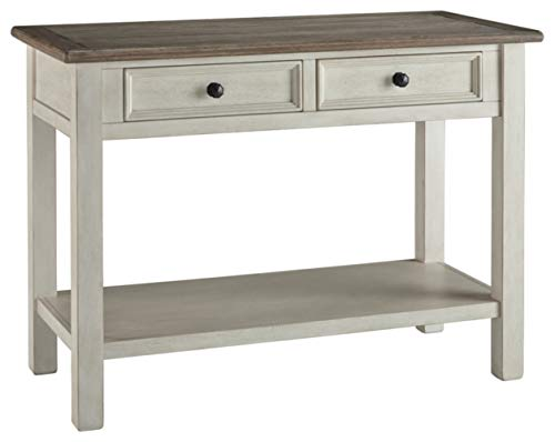 Signature Design by Ashley Bolanburg Sofa Table Two-tone