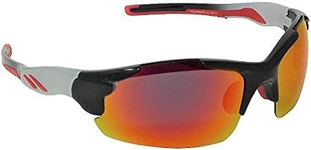 Eyelevel Clearwater - Gafas de sol polarizadas con espejo rojo Cat-3 UV400