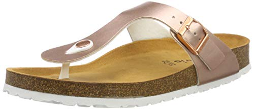 Tamaris Damen 1-1-27522-22 964 Pantoletten Mehrfarbig (ROSE GOLD 964), 37 EU