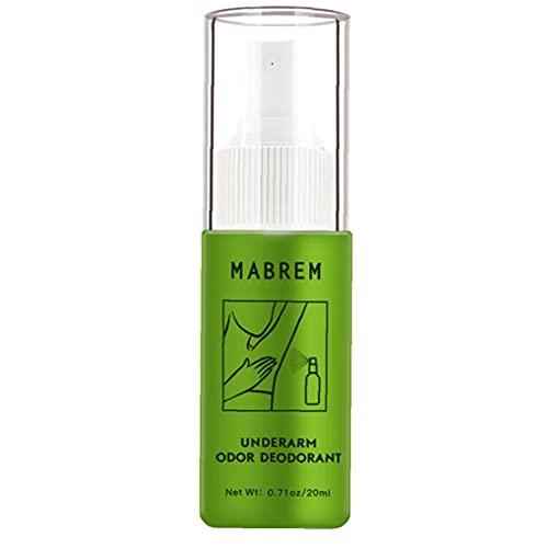 EElabper Olor de Las Axilas Remover Aerosol antitranspirantes Desodorante Agua Olor Corporal Extracción de 20 ml de Agua