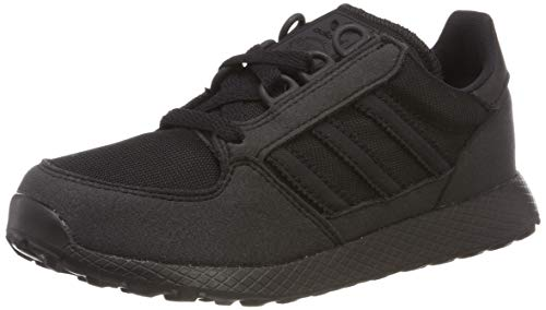 adidas Unisex-Kinder Forest Grove C Sneaker, Schwarz (Core Black/Core Black/Core Black 0), 35 EU