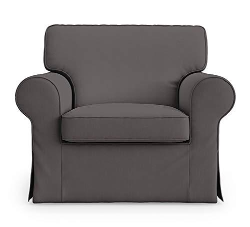 TLY Ektorp IKEA - Funda de Repuesto para sillón de 5 Colores (algodón)