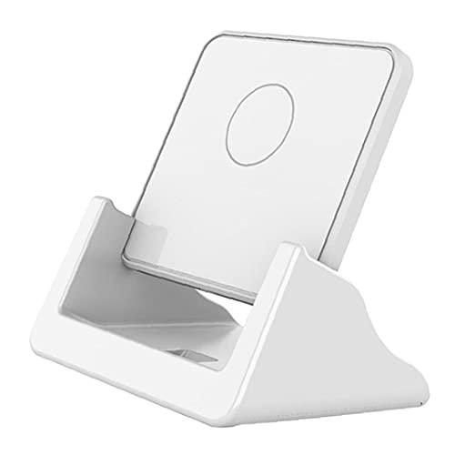 Tuimiyisou reforzador inalámbrica 15W teléfono Holder Soporte de Carga de Alta Velocidad de Carga para Smartphone Tabla Blanco del Soporte