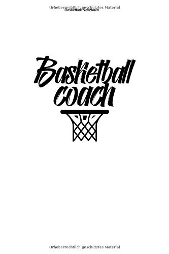 Basketball Notizbuch: 100 Seiten | Kariert | Wurf Netz Team Geschenk Fan Trainer Mannschaft Training Spiel Korb Ball Basket