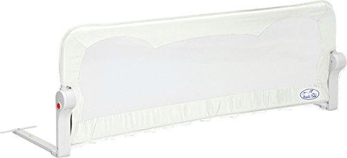 Barrera de cama para bebé, 90 x 66 cm. Modelo Blanco. Barrera de seguridad. Sello de calidad SGS.