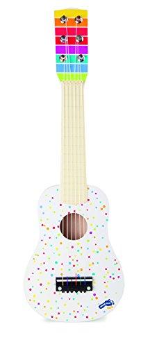 Small Foot by Legler 10382 Gitarre Sound, Musikinstrument für kleine Musiker, im farbenfrohen Design Spielzeug