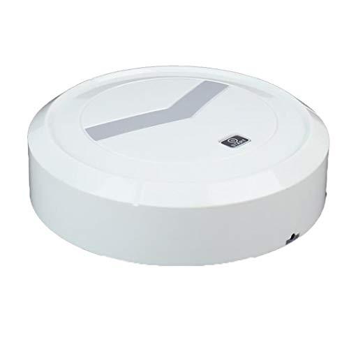 Tiowea Smart stofzuiger vloerrobot vegen oplaadbare huishoudelijke schoonmaakmiddelen borstelstofzuiger Eén maat wit