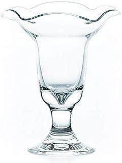 デザートグラス 花ブチ パフェ 3個セット 東洋佐々木ガラス (35802)