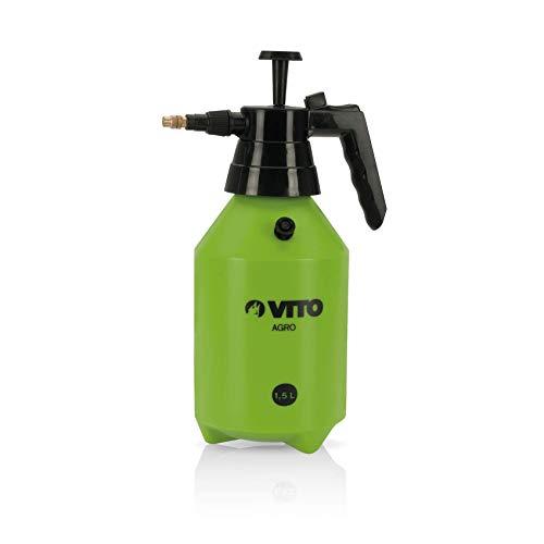 Drucksprüher 1,5 L Messingduese Pumpsprühflasche PE Pflanzensprüher-Gartenspritze