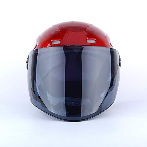 LG Snow Unisex Sommer Helm Motorrad Helm Reithelm Elektro Auto Helm Mehrfarbig...
