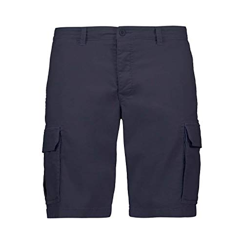 CMP Cotton Bermuda Shorts with Large Pockets Maillot Homme, Dark Blue, 48