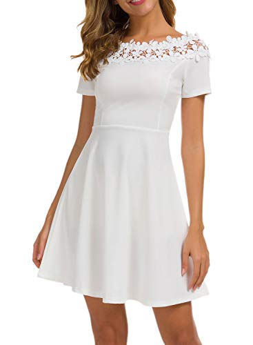 Off the Shoulder Dress to Wear as a Guest to a Wedding
