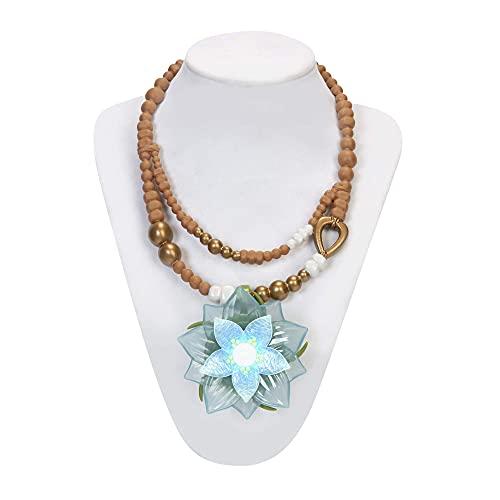 Disney Raya Dragon Flower Light Up Necklace