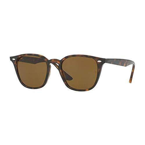 Gafas de sol para hombres y mujeres, retro, clásicas, con montura grande, gafas de sol casuales, negro brillante, todo gris