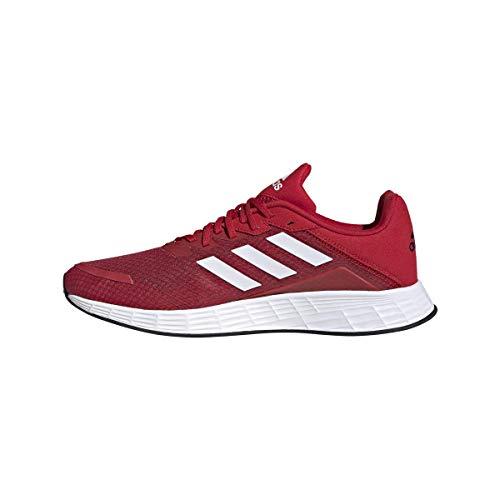 adidas Duramo SL, Zapatillas Hombre, Escarl/FTWBLA/NEGBÁS, 45 1/3 EU