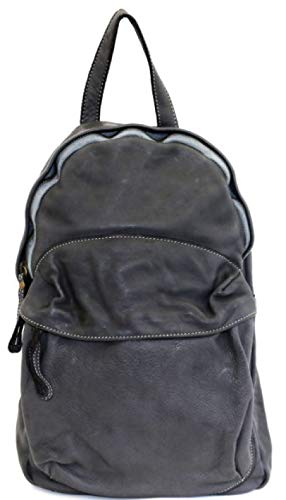 BZNA Bag Noah grau Backpacker Designer Rucksack Damenhandtasche Schultertasche Leder Nappa ItalyNeu