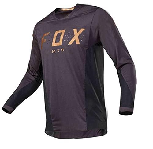2021 Men's Motocross Jersey Camiseta MTB Enduro Long Sleeve Cycling Jersey Foxmtb Downhill Shirt Fxr Mx Dh Road Bicycle Tops Man-3Xl