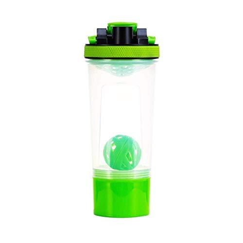 ZLYMY CUS 50pcs 25oz Edelstahl Protein Shaker Gym Shake Kessel Sport Milchshake Mixer Wasserflasche Whey Protein für Fitness BPA-frei neu, rot, 739ml