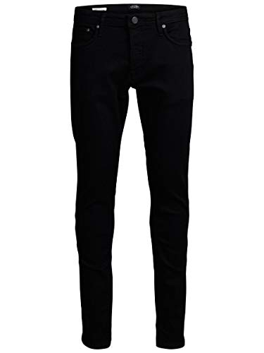 JACK & JONES Herren Slim Fit Jeans Glenn Felix AM 046 3430Black Denim