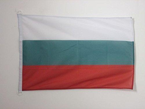 AZ FLAG Flagge BULGARIEN 90x60cm - BULGARISCHE Fahne 60 x 90 cm Aussenverwendung - flaggen Top Qualität