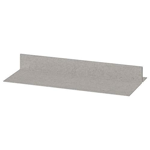 KOMPLEMENT zapatero para bandeja extraíble 25.5 x 10 x 3 pulgadas gris claro