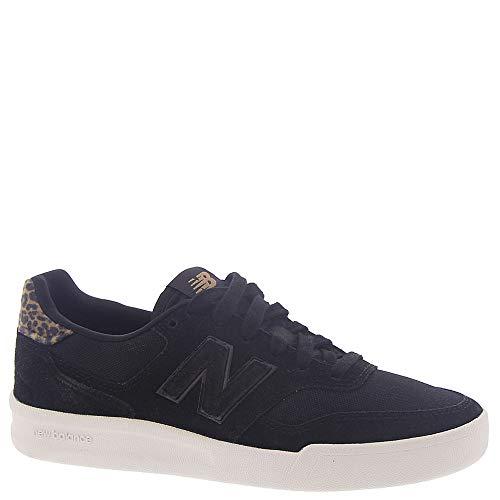 New Balance Zapatillas 300 V2 Court para mujer, negro (Negro), 37.5 EU