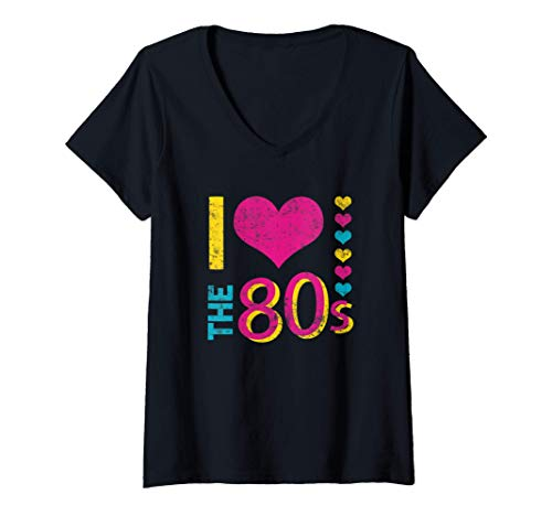 Mujer I Love The 80