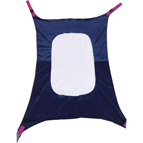 Baby Hammock Infant Bed with Comfortable Breathable Net Safe Nursery Bed Travel Snug Breathable Net 1 PC Blue