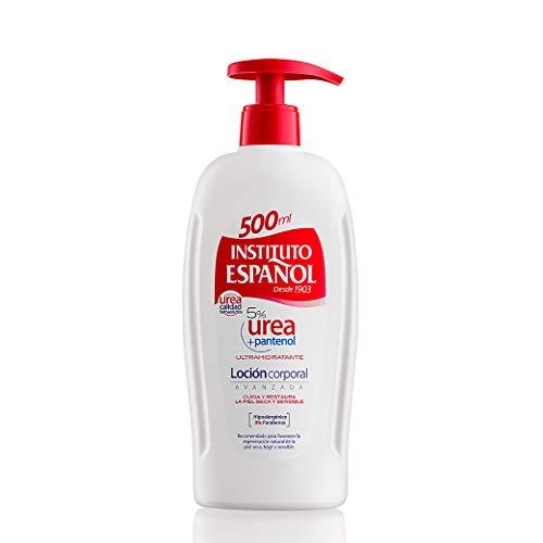 Loción Hidratante Urea + Pantenol - Instituto Español - Dosificador 500ML