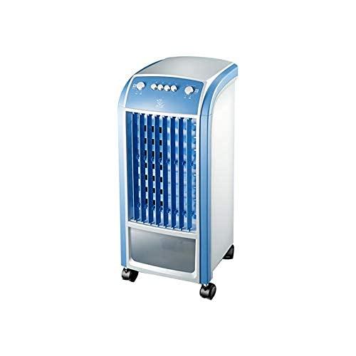 YAeele Aire Acondicionado Ventilador, Aire Acondicionado/Hogar Simple Tipo de frío Que se Mueve el Aire más frío Humidificación de Control Remoto (Color: A, Tamaño: 25,5 * 27 * 59cm) (Color : A)