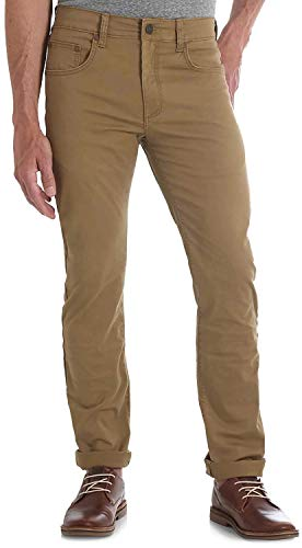 Wrangler Men's Retro Slim Fit Boot Cut Jean, Acorn, 42x32