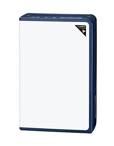 CORONA(コロナ) 衣類乾燥除湿機 除湿量18L(木造20畳・鉄筋40畳まで) エレガントブルー CD-H18A(AE)