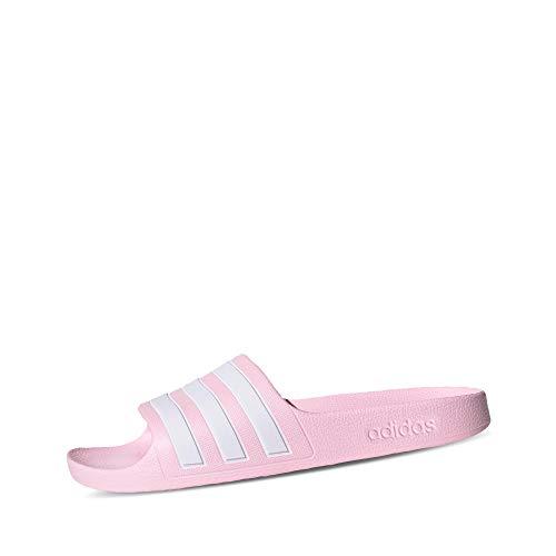 adidas Adilette Aqua K, Zapatillas, Clear Pink/FTWR White/Clear Pink, 33 EU