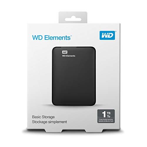 WD Elements Portable, externe Festplatte – 1 TB – USB 3.0 – WDBUZG0010BBK-WESN - 8