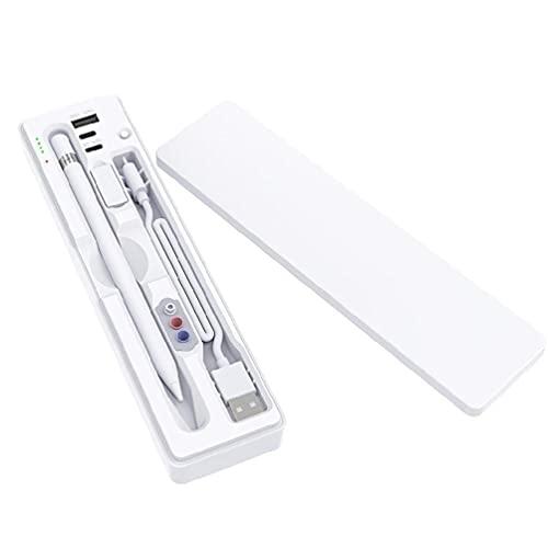 xllLU Adecuado para iPadPencil Nueva Generación Huawei Tipo-C Carga USB Escritura Pantalla Táctil Pen Caja de Almacenamiento de Pantalla Táctil Estuche de Lápiz