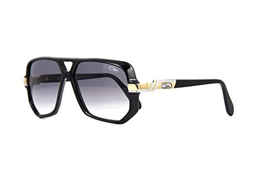 Cazal sonnenbrille, 627/3 001 schwarz grau größe 59 mm mann