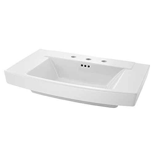 American Standard 328008.02 Townsend Pedestal Sink Top-8 Inch Centers, White