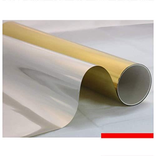 ZXL Vensterfolies raamfolie glas sticker donker venster papier home slaapkamer zonnebrandcrème transparante sticker ondoorzichtig 60 * 100cm (afmeting: 30 * 100cm)