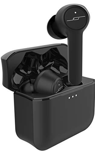 【 第二世代 完全 ワイヤレス イヤホン (JPRiDE) TWS-520 Bluetooth イヤホン 】Red Dot Award 受賞デザイン ( iPhone Android 対応) 最新 Bluetooth 5.0 ( WEB会議 テレワーク マイク 搭載 ハンズフリー通話 各種音声アシスタント対応 )【イヤホンのみで 6.5 hrs ~ 連続再生 (旧モデル比 2倍 ~ 1.5倍) 】 高音質 AAC オーディオ対応 (カナル型) 防水 IPX5 【JPRiDE @ 東京発】