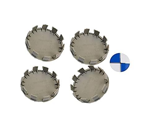 Coprimozzo compatibile 68mm con portachiavi omaggio , cerchi in lega compatibile con per serie 1 2 4 5 6 7 x1 x2 x3 x4 x5 x6 E46 E30 E39 E34 E90 E60 E87 M3 M4 F10 F48 F49
