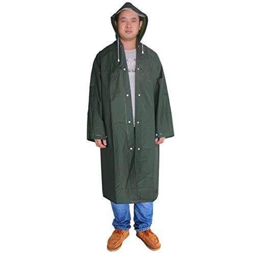 SXZHSM regenjas Poncho met omslag en mouwen voor volwassenen. Herbruikbare draagbare transparante regenjas waterdichte regen Poncho