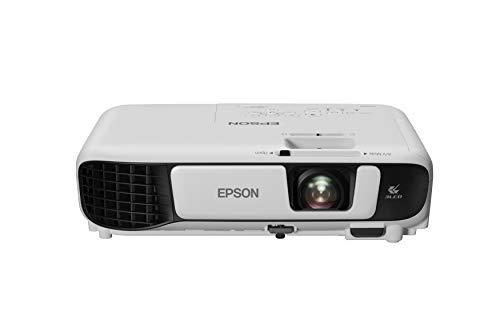 Epson Videoproyector Powerlite W42+, WXGA 3600 lúmenes blanco y color, 3LCD con HDMI para Corporación Wi-Fi integrado