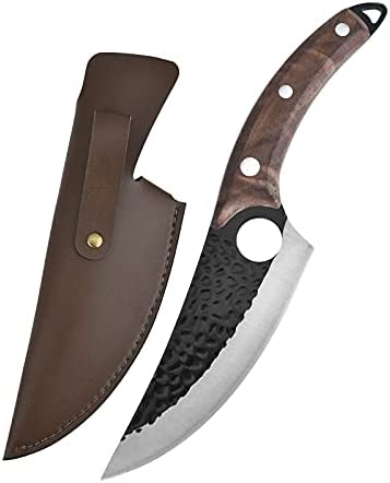 Boning Bargain Knife utility Hand Forged with Sheath Gift Luxury
