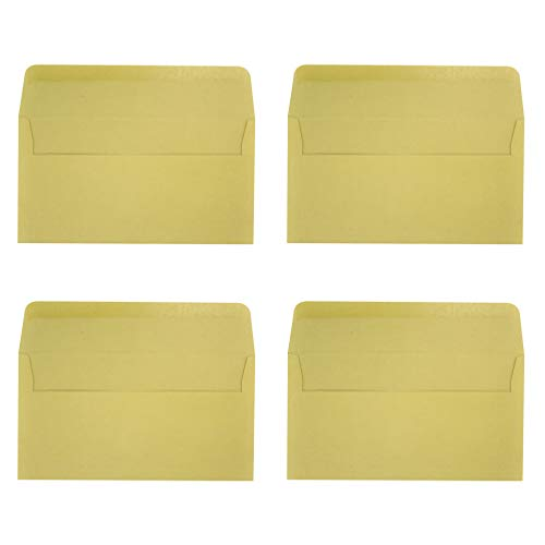 BESTOYARD 封筒 クラフト紙 無地 メッセージカード封筒 角形 カードケース グリーティングカード封筒 ビジネス 案内状 挨拶封筒 50枚セット